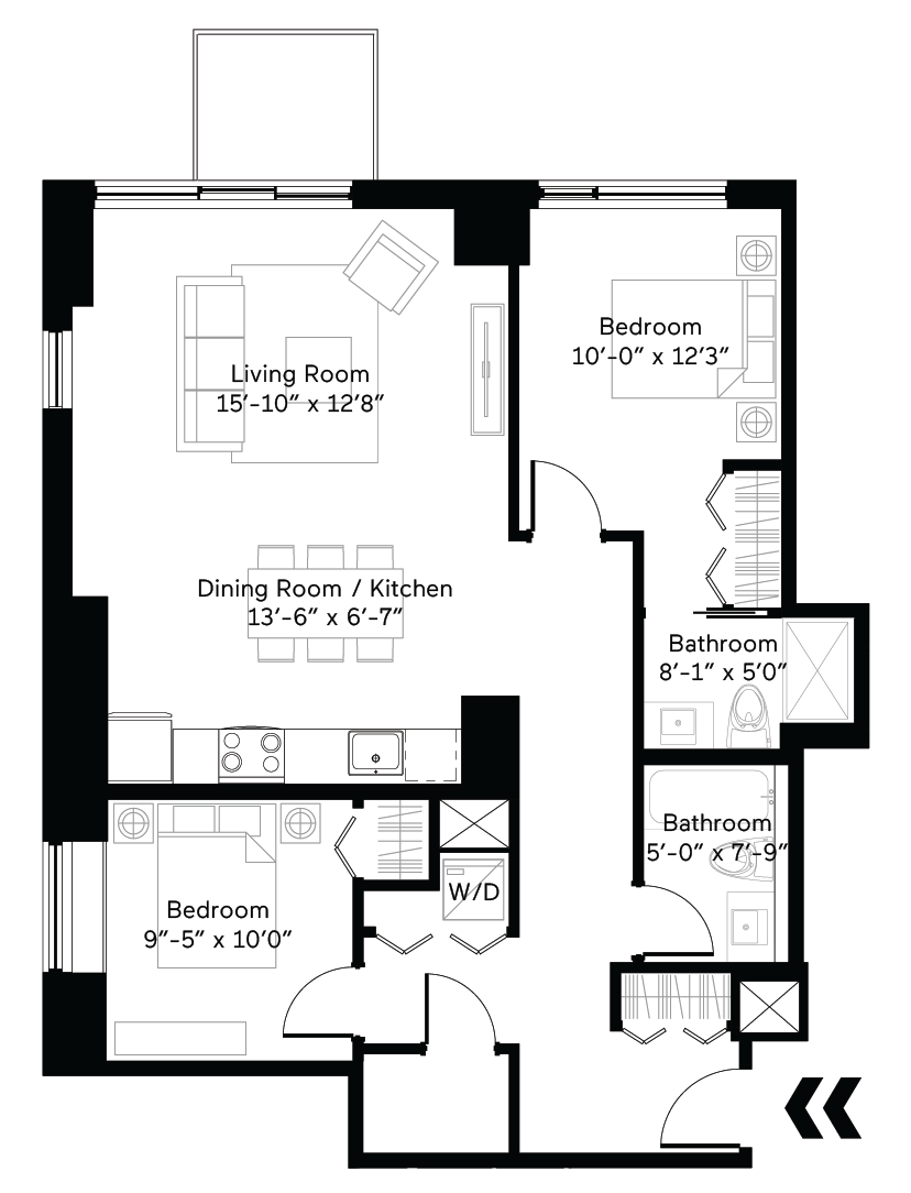 Infinite Floor Plan