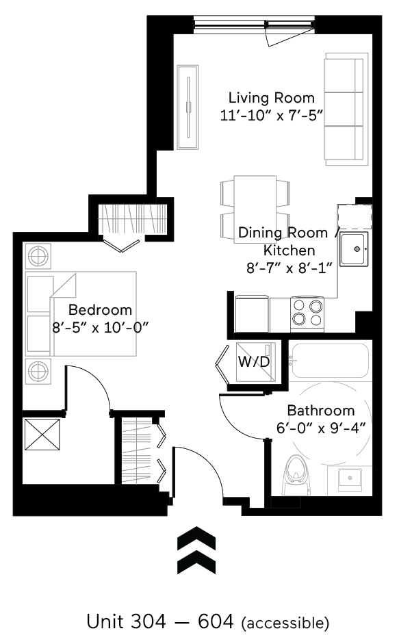 Panel (Accessible) Floor Plan