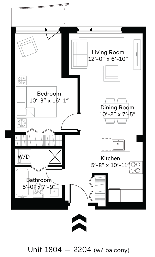 Salinity (Balcony) Floor Plan