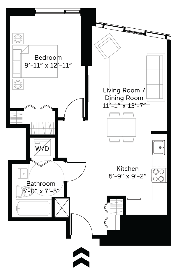 Tap (Accessible) Floor Plan