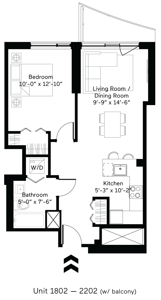 Vitality (Balcony) Floor Plan